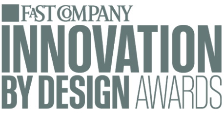 Fast Company logo above the words: Innovation by Design Awards