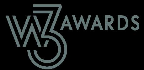 W3 logo next to the word: Awards